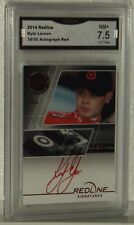 2014 REDLINE KYLE LARSON AUTOGRAPH RED CARD 39/50 NM+ 7.5 BY GMA  SHIPS FAST