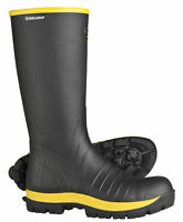 """New Bagman Skellerup Quatro Safety Toe Non-Insulated Knee 16"""" Boots"""