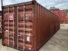 Used 40 Dry Van Steel Storage Container Shipping Cargo Conex Seabox Phoenix