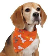 "Aria Trick or Treat Halloween Bandana Dog Scarf Neck Square Collar One Size 19"""