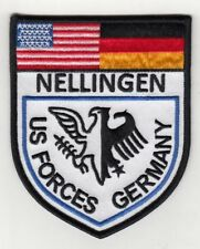 """U.S. Forces Nellingen Germany 4"""" embroidered patch"""