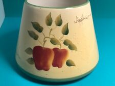 🍎 Vintage Home Interiors Apple Orchard Collection Candle Shade Topper🍎