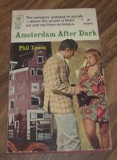AMSTERDAM AFTER DARK BY PHIL LEWIS MACFADDEN(75-231) PAPERBACK BOOK