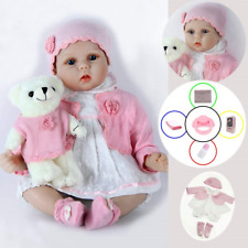 ZIYIUI Reborn Dolls 22 Inches 55 cm That Looks Real Baby Doll Lifelike Silicone