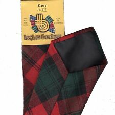 Tartan Tie Clan Kerr Modern Scottish Wool Plaid