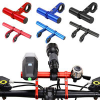 MTB Bike Flashlight Holder Handlebar Bicycle Accessories Extender Mount Bracket