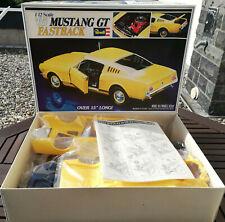 Ford Mustang GT fastback 1965 1:12 Revell 1978 Mega rar/original soldado