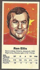 1972 Team Canada Ron Ellis Card
