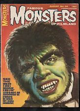 FAMOUS MONSTERS OF FILMLAND #34 G  (DR JEKYLL AND MR HYDE)  WARREN