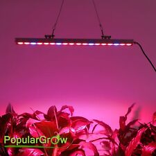 PopularGrow 81w Led Grow Light Bar R&B for Tenting Plant Seeding Bloom Growth