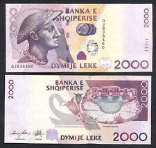 ALBANIA  2000 Leke 2012 UNC P 74 b