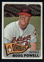 1965 Topps #560 Boog Powell NM/NM+ SP Orioles A4301