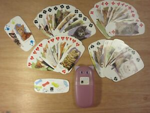 Meow Playing Cards Beautiful Cat Illustrations