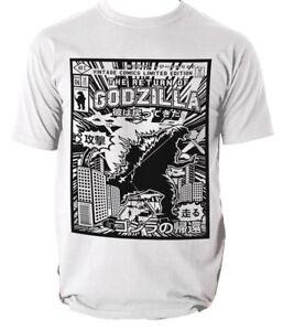 GODZILLA T Shirt Vintage classic comics S-3XL