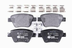 Hella Pagid Rear Brake Pads T1782 fits VW BEETLE 5C2, 5C1 1.4 TSI