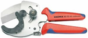 Knipex 90 25 40 Pipe Cutter for Composite and Plastic Pipes
