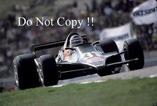 Héctor Rebaque Lotus 79 F1 temporada 1979 fotografía