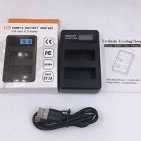 NEWYI LCD USB LCD Dual Charger For Sony NP-FZ100 ilce-9 A7RIII A7III ½rLDZTJKUK