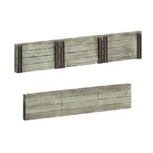 Bachmann 44-0509 Scenecraft 4 x 71mm Wood Sleeper Retaining Walls 00 Gauge 1st
