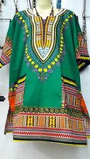 Green Shirts Plus Size Islamic Top Tribal Dashiki African Mexican jersey For Men