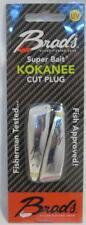 "2 Pack Brad's 2"" Kokanee Cut Plugs Silver Bullet Fishing Lures TPKCP01 NEW"