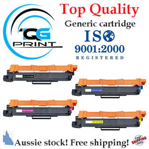 High Yield Toner Cartridge compatible with Brother TN 257 BK/C/M/Y with CHIP