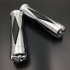 "Skull Diamon 1""Grip For Honda Shadow Magna Vtx 1300 1800 Goldwing  1200 1500"