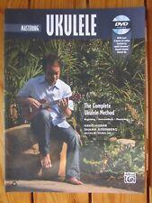 Mastering UKULELE - Book with DVD  *NEW*  Publisher Alfred