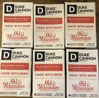 """Duke Cannon """"Big Ass Brick Of Soap, Jr"""" Old Milwaukee American Lager 4.5 oz X 6!"""