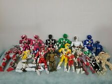 Power Rangers Collection Loose Lot of 22 Figures 90's Bandai