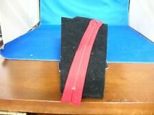 "New Red zipper  8 1/2"" with  nylon coils"