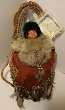 VTG Certified Native American Papoose with Baby Lakota Ho - By Santa Fe Designs