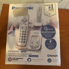 Panasonic KX-TGD562G Rose Gold Link2Cell Bluetooth Cordless Phone OPEN BOX Works