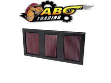 K&N Air Filter For 11-16 MERCEDES E350 / SLK350 3.5L / 11-12 GLK350 - 33-2985