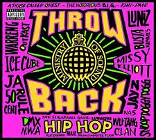 THROWBACK HIP HOP - NEW CD COMPILATION