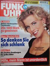 FUNK UHR 49 - 1995 3* TV 9.-15.12. Eva Habermann (Pumuckel-TV) Ali MacGraw