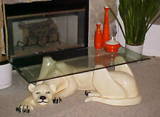panther coffee table   ebay