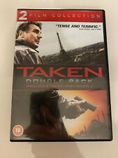Taken / Taken 2 Double Pack DVD (2013) Liam Neeson FAST DISPATCH UK