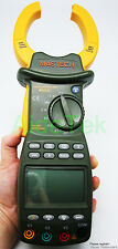 MASTECH  MS2203 3-phase clamp Meter energy Optimization saving power factor corr