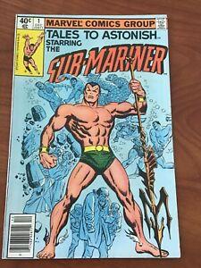 Tales to Astonish #1 Reprints Sub-mariner 1 Marvel Comics 1979 FN/VF