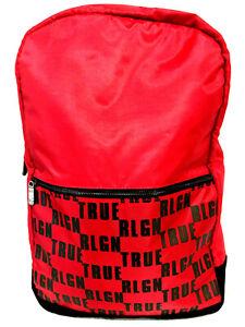 True Religion Red Backpack/Bookbag NWT