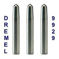 3 New Dremel Authentic 9929 Engraver Diamond Point Bit