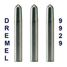 3 New Dremel 9929 Engraver Diamond Point Bit