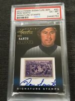 2012 Panini Signature Series Stamps Ron Santo Autograph PSA Graded /50 Cubs