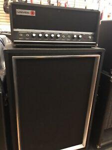 Univox U-1220 Dual 6L6-GC Reverb Tremelo Tube Amplifier Guitar Amp w/ Cabinet