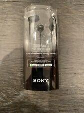 2x (Pair) Sony Genuine MDREX15AP In Ear MDR-EX15AP Headphones with MIC - BLACK