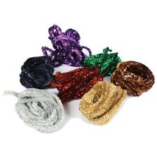 7 x 3 m Length Fantasia Pipe Cleaner Tinsel Crafts Activity School Assorted J5AB