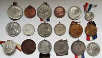 King George V and Queen Mary Antique Vintage Coronation Jubilee Medal