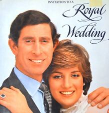 INVITATION TO A ROYAL WEDDING by K. Spink 1981 Princess Diana Prince Charles