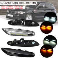 2x LED Side Marker Repeater Light Indicators For BMW E46 E60 E82 E83 E90 E92